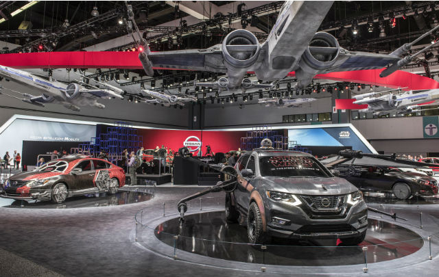"LA Auto Show 2017: ""Over 1000 Reasons To Attend"""