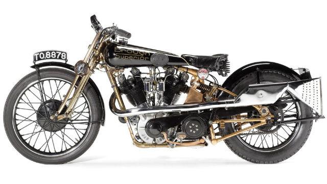 10 Sepeda Motor Klasik Termahal di Dunia