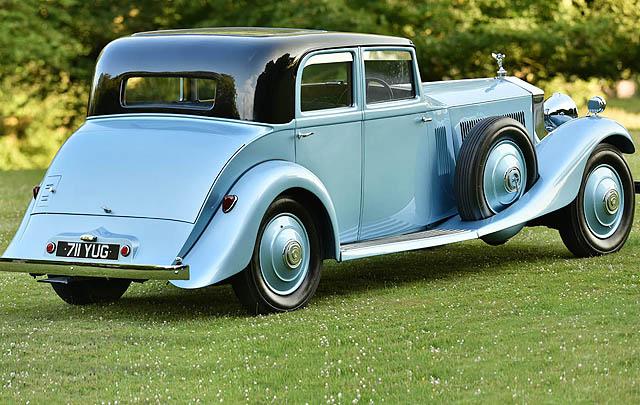 Rolls-Royce Eks Sir Campbell Lengkapi Pameran 'Great Eight Phantoms'