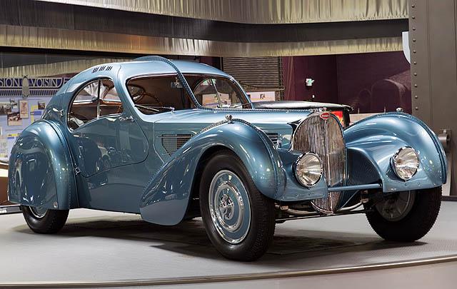 Bugatti 57SC Atlantic Siap Tampil di Arizona Concours 2017