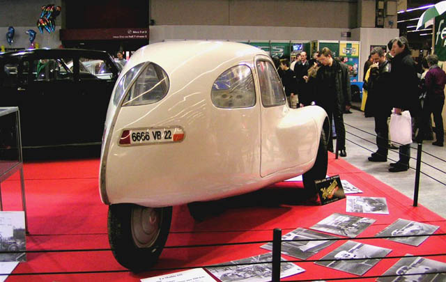 Mathis VL333, Desain Futuristik Era 1940-an