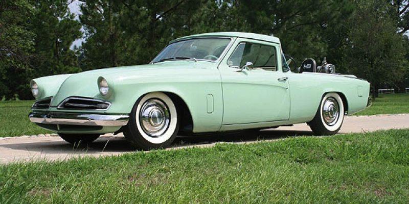 Studebaker Custom Pickup 1953: Modifikasi Klasik Eksotis