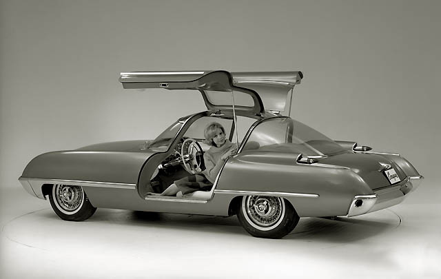 Konsep Retro Unik: Ford Cougar 406 1962