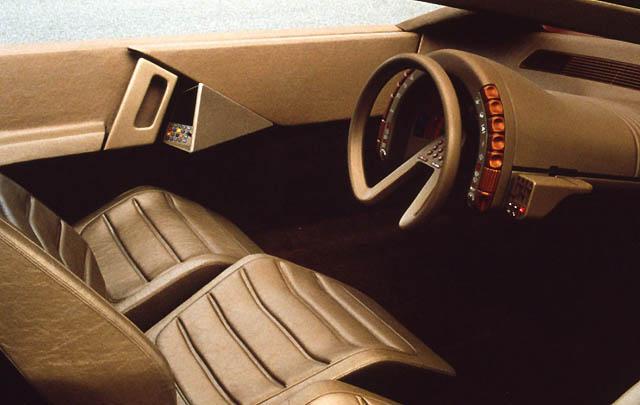 Citroën Karin 1980, Konsep Futuristik Desain Piramid