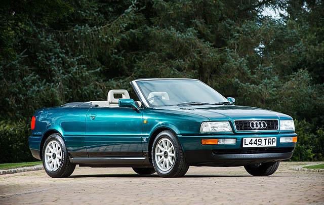 Audi 80 Cabriolet Eks Putri Diana Siap Dilelang