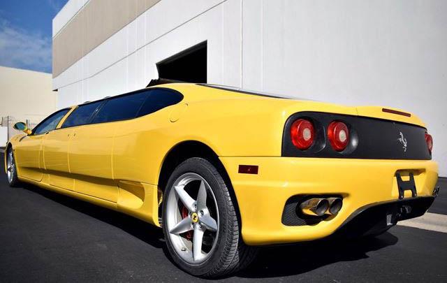 Wow, Inilah Tampang Ferrari 360 Modena Versi 'Limousine'