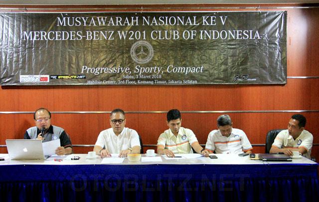 Munas ke-5, MB W201 CI Pilih Ketua Umum Baru