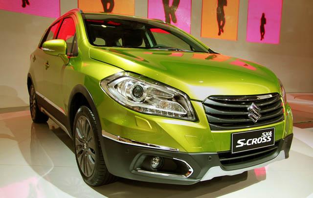 Suzuki SX4 S-Cross Debut di IIMS 2014