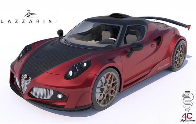 Alfa Romeo 4C Definitiva, Desain 'Gahar' Lazzarini