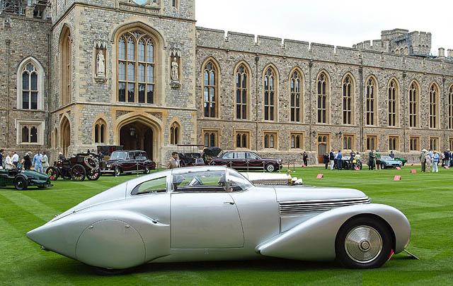 Dari Ajang Concours of Elegance 2016 di Windsor Castle