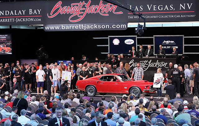 Lelang Barrett-Jackson Las Vegas 2016 Bukukan Hasil Rp 423 Miliar