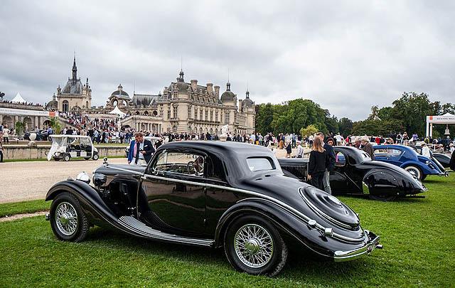 Ratusan Mobil Eksotis Tampil di Chantilly Concours 2016