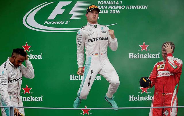 Nico Rosberg Menangkan F1 Grand Prix Italia 2016