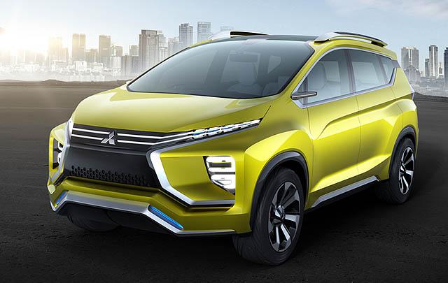 Mitsubishi XM Concept Siap Tampil di GIIAS 2016