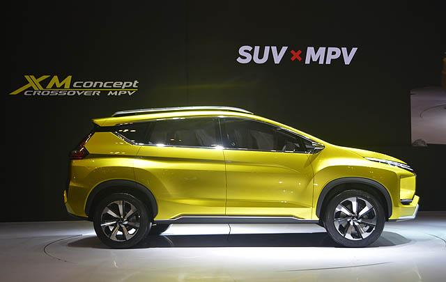 Mitsubishi XM Concept Resmi Debut di GIIAS 2016