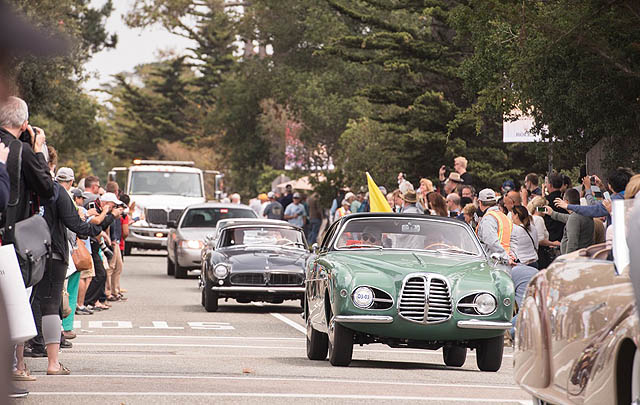 Serunya Ajang Pebble Beach Tour d'Elegance 2016