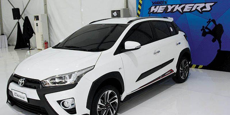 FIRST LOOK I Toyota Yaris Heykers