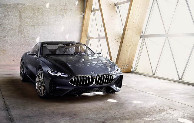 Mewah & Sporty, Inilah Wujud BMW Seri 8 Concept Terbaru