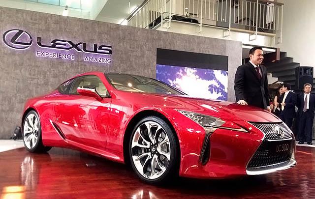 Lexus LC 500 Resmi Mengaspal di Tanah Air