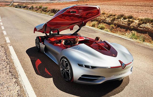 Renault Trezor Concept Rilis di Paris Motor Show 2016