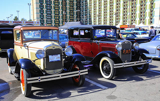 1.000+ Mobil Kustom Padati Ajang 'Viva Las Vegas 2017'
