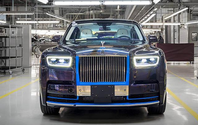 Unit Pertama Rolls-Royce Phantom Generasi Baru Siap Dilelang