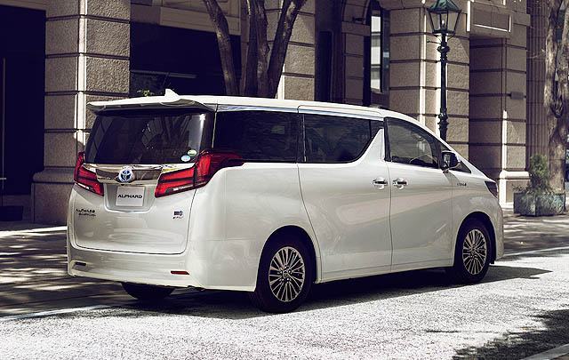 Inilah Tampang Toyota Alphard Facelift 2018