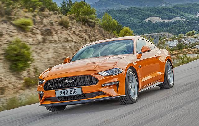 Ford Mustang Terbaru Debut Perdana di Frankfurt 2017
