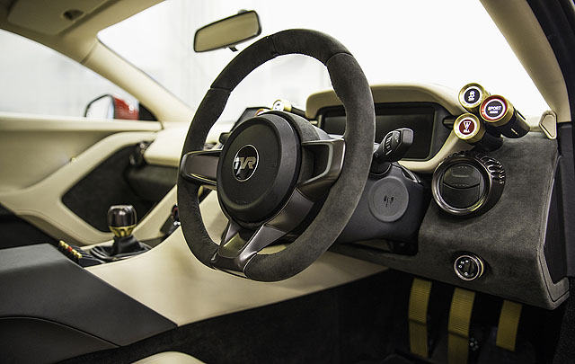 Ini Dia Tampang Mobil Sport TVR Griffith Terbaru