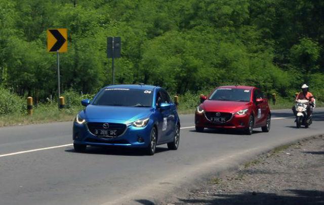 """Mudik Lebih  """"Pe-de"""" bersama Mazda"""