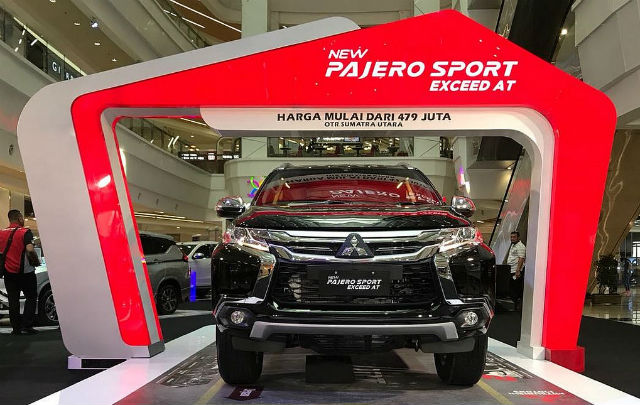 New Pajero Sport Sambangi Medan