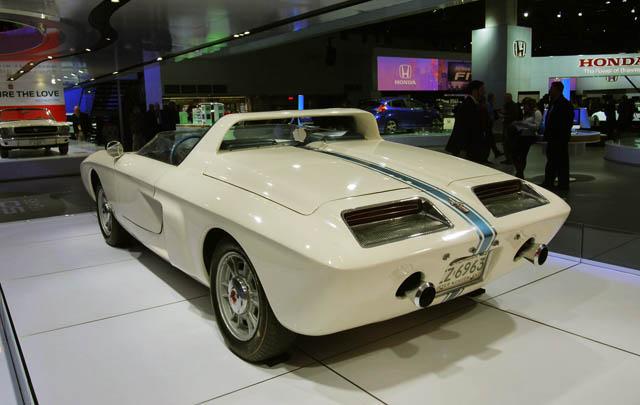 '50 Tahun Ford Mustang' di Detroit Auto Show 2014