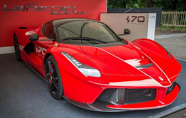 Perayaan 70 Tahun Ferrari Digelar di Goodwod FOS 2017