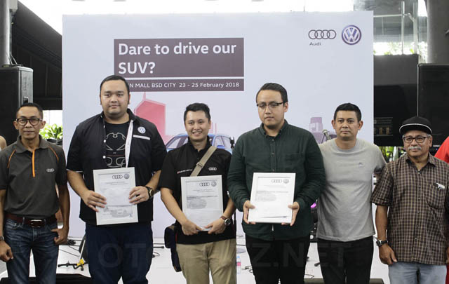 Garuda Mataran Ajak Konsumen Coba Line-up Audi & VW