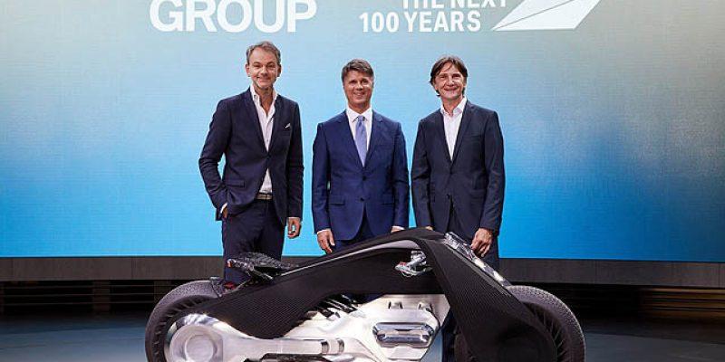 Inilah Wujud Futuristik BMW Motorrad Vision Next 100
