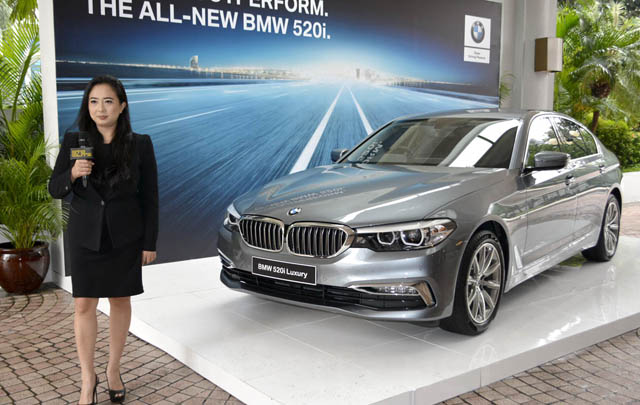 All-new BMW 520i Luxury Line Produksi Lokal Resmi Meluncur