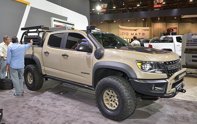 Chevrolet Hadirkan Barisan Konsep Unik di SEMA Show 2017