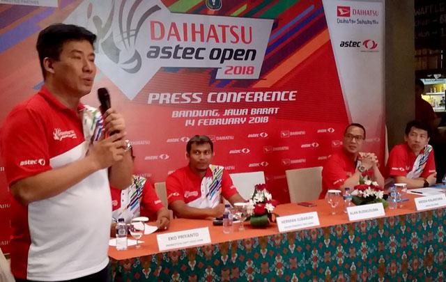 Daihatsu ASTEC Open 2018 Sukses Jaring 800an Peserta