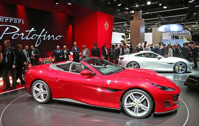 Ferrari Portofino Curi Perhatian Pengunjung Frankfurt Motor Show