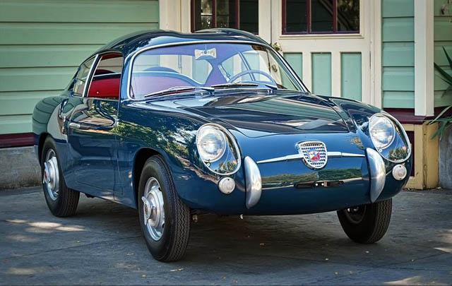 Klasik dan Langka: Fiat Abarth 750 Zagato Coupe 1956