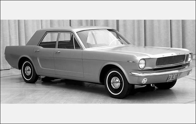 Ini Dia, Berbagai Konsep Alternatif Ford Mustang