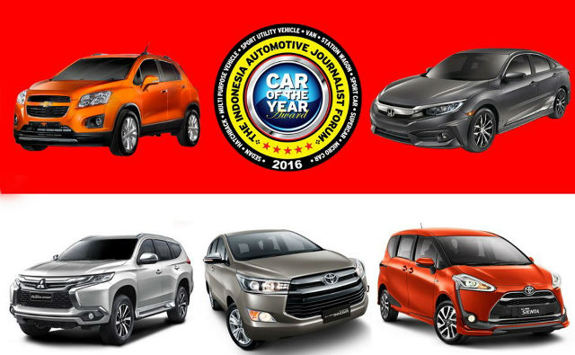 """Pajero Sport Raih """"Forwot Car of The Year 2016"""""""