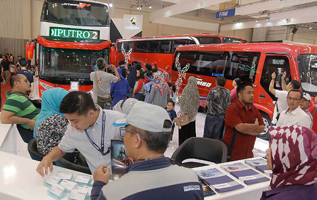 GIICOMVEC 2018 Siap Hadirkan Ragam Kendaraan Komersial Terbaru