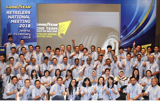 Goodyear Indonesia Retailers National Meeting