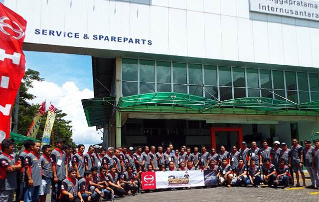 'Hino Dutro Safety Driving Competition' Digelar di Manado