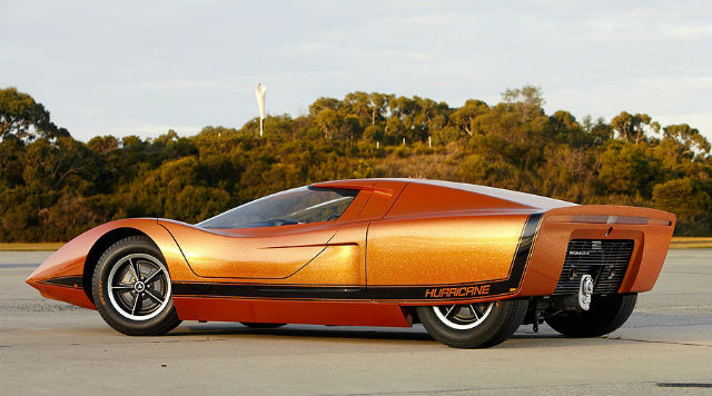 Holden Hurricane Concept (1969): Paling Futuristik dari Australia