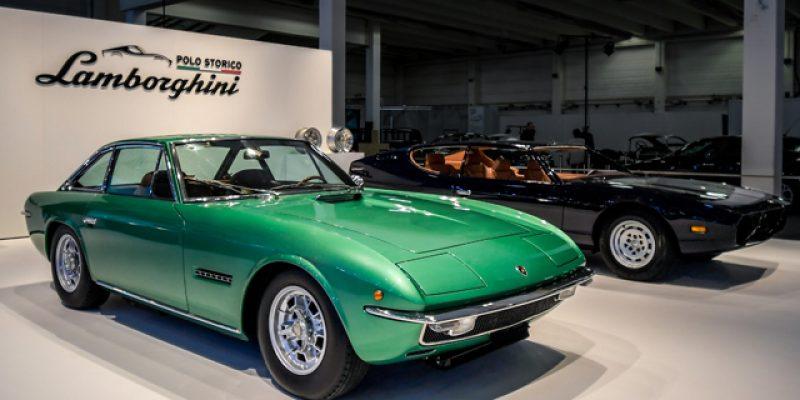 Lamborghini Espada dan Islero Gemparkan Techno Classica 2018