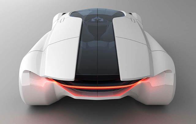 Lexus Kunai Concept, Sportscar Futuristik untuk Keluarga