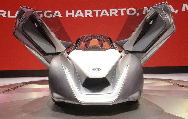 "Nissan Rangkul Pengunjung GIIAS 2017 Melalui ""Intelligent Mobility"""