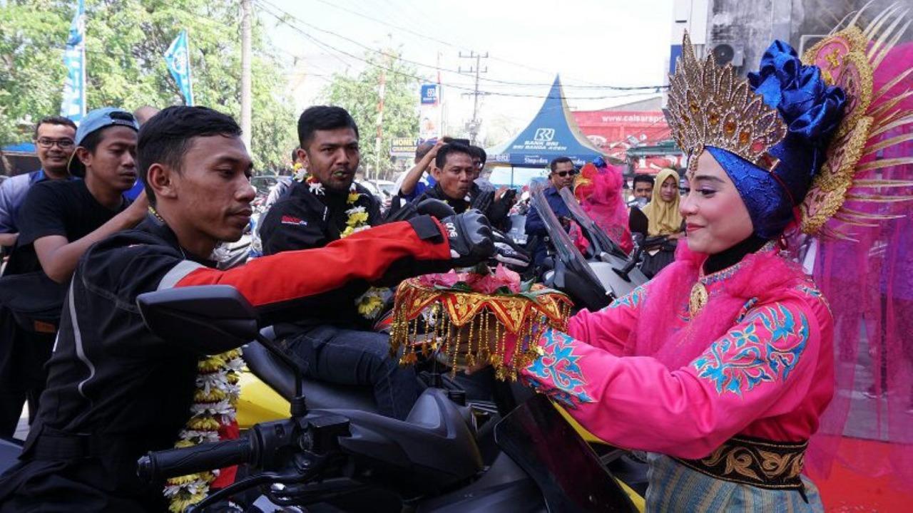 Maxi Yamaha Jelajahi Keindahan Indonesia, Ini Rutenya!